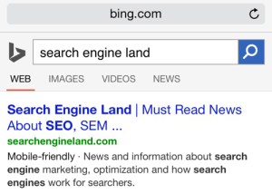 Bing анонсировал запуск своей версии mobile-friendly алгоритма