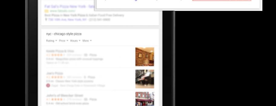 Google начал показывать рейтинги из Мой бизнес