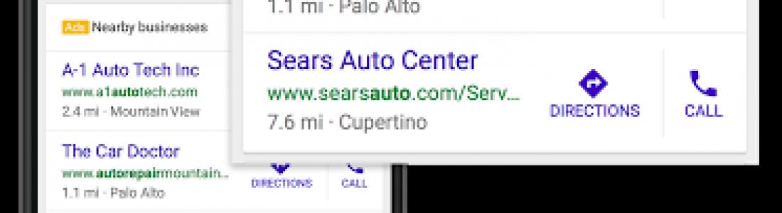 Google добавил «Близлежащие бизнесы» в локальную выдачу.