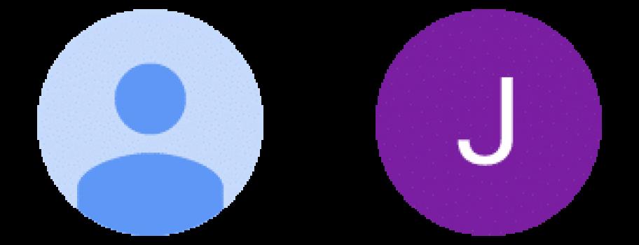 Google изменил дизайн аватаров в аккаунтах пользователей